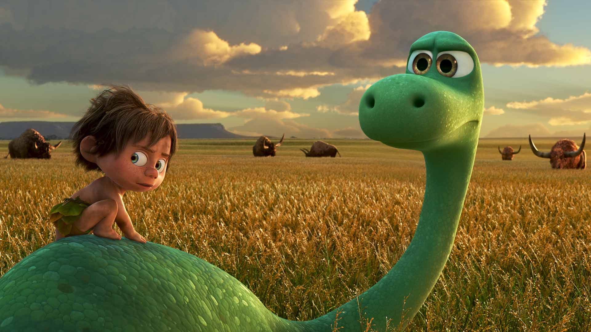 den gode dinosaurien trailer