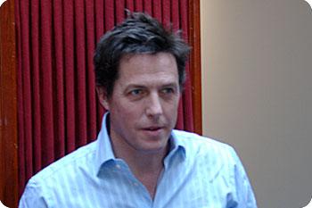 Hugh Grant. Foto: Esbjörn Guwallius @ 2007 Film.nu
