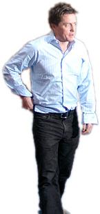 Hugh Grant. Foto: Esbjörn Guwallius © 2007 Film.nu